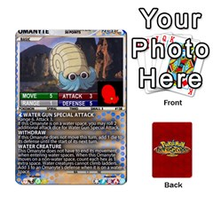 Pokemon 108 151 Extras New By Seth   Playing Cards 54 Designs (rectangle)   U7nx7jmpxk6f   Www Artscow Com Front - Heart8