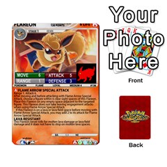 Pokemon 108 151 Extras New By Seth   Playing Cards 54 Designs   U7nx7jmpxk6f   Www Artscow Com Front - Heart10