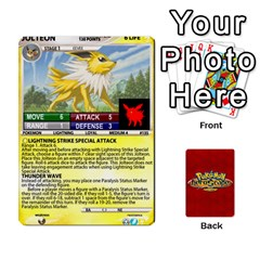 King Pokemon 108 151 Extras New By Seth   Playing Cards 54 Designs (rectangle)   U7nx7jmpxk6f   Www Artscow Com Front - HeartK