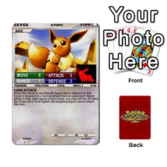Ace Pokemon 108 151 Extras New By Seth   Playing Cards 54 Designs (rectangle)   U7nx7jmpxk6f   Www Artscow Com Front - HeartA
