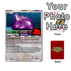 Pokemon 108 151 Extras New By Seth   Playing Cards 54 Designs   U7nx7jmpxk6f   Www Artscow Com Front - Diamond2