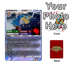 Pokemon 108 151 Extras New By Seth   Playing Cards 54 Designs   U7nx7jmpxk6f   Www Artscow Com Front - Diamond3