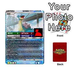 Pokemon 108 151 Extras New By Seth   Playing Cards 54 Designs   U7nx7jmpxk6f   Www Artscow Com Front - Diamond4