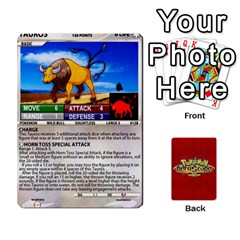 Pokemon 108 151 Extras New By Seth   Playing Cards 54 Designs   U7nx7jmpxk6f   Www Artscow Com Front - Diamond5