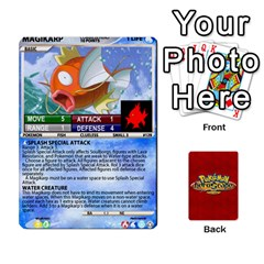Pokemon 108 151 Extras New By Seth   Playing Cards 54 Designs (rectangle)   U7nx7jmpxk6f   Www Artscow Com Front - Diamond6