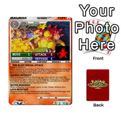 Pokemon 108 151 Extras New By Seth   Playing Cards 54 Designs   U7nx7jmpxk6f   Www Artscow Com Front - Diamond8