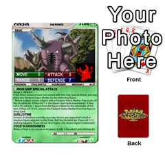 Pokemon 108 151 Extras New By Seth   Playing Cards 54 Designs   U7nx7jmpxk6f   Www Artscow Com Front - Diamond9