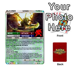Jack Pokemon 108 151 Extras New By Seth   Playing Cards 54 Designs (rectangle)   U7nx7jmpxk6f   Www Artscow Com Front - DiamondJ