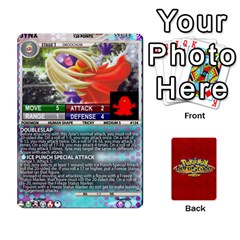 Queen Pokemon 108 151 Extras New By Seth   Playing Cards 54 Designs   U7nx7jmpxk6f   Www Artscow Com Front - DiamondQ