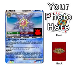 Ace Pokemon 108 151 Extras New By Seth   Playing Cards 54 Designs (rectangle)   U7nx7jmpxk6f   Www Artscow Com Front - DiamondA