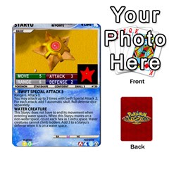 Pokemon 108 151 Extras New By Seth   Playing Cards 54 Designs (rectangle)   U7nx7jmpxk6f   Www Artscow Com Front - Club2