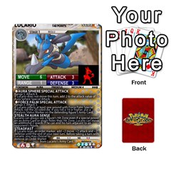 Pokemon 108 151 Extras New By Seth   Playing Cards 54 Designs   U7nx7jmpxk6f   Www Artscow Com Front - Spade6