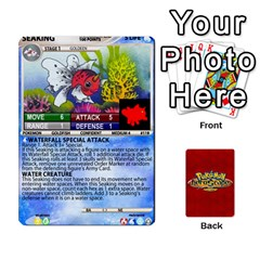 Pokemon 108 151 Extras New By Seth   Playing Cards 54 Designs   U7nx7jmpxk6f   Www Artscow Com Front - Club3