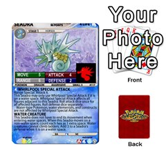 Pokemon 108 151 Extras New By Seth   Playing Cards 54 Designs   U7nx7jmpxk6f   Www Artscow Com Front - Club4