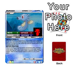 Pokemon 108 151 Extras New By Seth   Playing Cards 54 Designs (rectangle)   U7nx7jmpxk6f   Www Artscow Com Front - Club6