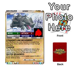 Queen Pokemon 108 151 Extras New By Seth   Playing Cards 54 Designs (rectangle)   U7nx7jmpxk6f   Www Artscow Com Front - ClubQ