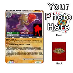 King Pokemon 108 151 Extras New By Seth   Playing Cards 54 Designs   U7nx7jmpxk6f   Www Artscow Com Front - ClubK