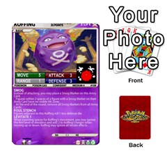Ace Pokemon 108 151 Extras New By Seth   Playing Cards 54 Designs (rectangle)   U7nx7jmpxk6f   Www Artscow Com Front - ClubA