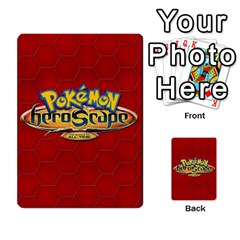Pokemon 108 151 Extras New By Seth   Playing Cards 54 Designs   U7nx7jmpxk6f   Www Artscow Com Back
