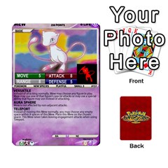 Pokemon 108 151 Extras New By Seth   Playing Cards 54 Designs (rectangle)   U7nx7jmpxk6f   Www Artscow Com Front - Spade10