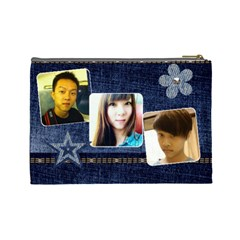 My Uncle By Jamie   Cosmetic Bag (large)   J1dnikti6rnw   Www Artscow Com Back