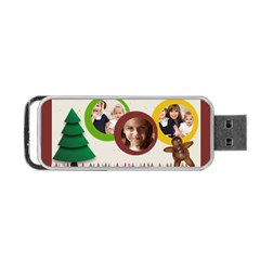Christmas By Joely   Portable Usb Flash (two Sides)   Z6i2fx6wphzi   Www Artscow Com Front