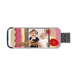 Christmas By Joely   Portable Usb Flash (two Sides)   Vqf4ozd98094   Www Artscow Com Back
