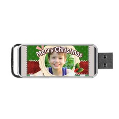 Christmas By Joely   Portable Usb Flash (two Sides)   H21ick0ypn5h   Www Artscow Com Front
