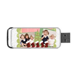 Christmas By Joely   Portable Usb Flash (two Sides)   Qj1uyex5ni0p   Www Artscow Com Front