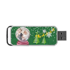 Christmas By Joely   Portable Usb Flash (two Sides)   Io0jeqbnw1mq   Www Artscow Com Back