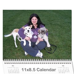 Calendar For Mom By Courtney   Wall Calendar 11  X 8 5  (12 Months)   A7x1yehcra51   Www Artscow Com Cover