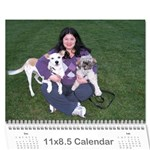calendar for mom - Wall Calendar 11  x 8.5  (12-Months)