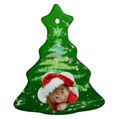 Christmas By Joanne5   Christmas Tree Ornament (two Sides)   Ubkzin9cv0ls   Www Artscow Com Front