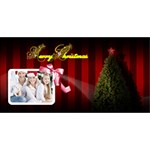 Christmas Invitation - YOU ARE INVITED 3D Greeting Card (8x4)