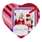 christmas - Ornament (Heart)