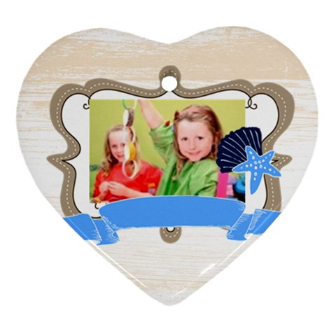 Christmas By Mac Book   Ornament (heart)   8q65r3vo209p   Www Artscow Com Front