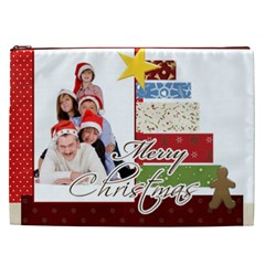 Christmas By Betty   Cosmetic Bag (xxl)   Cmeevg35nd3l   Www Artscow Com Front