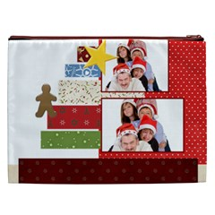 Christmas By Betty   Cosmetic Bag (xxl)   Cmeevg35nd3l   Www Artscow Com Back