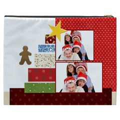 Christmas By Betty   Cosmetic Bag (xxxl)   Yb2w3rkyq6ck   Www Artscow Com Back