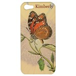 Sunflower and Butterfly Apple iPhone 5 hardshell Case