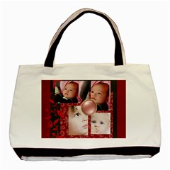Christmas By Mac Book   Basic Tote Bag (two Sides)   Gimn67wwb3ma   Www Artscow Com Back