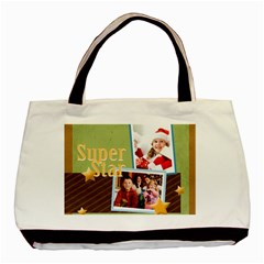 Christmas By Mac Book   Basic Tote Bag (two Sides)   Ebnzb1i8hqb5   Www Artscow Com Back