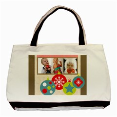 Christmas By Mac Book   Basic Tote Bag (two Sides)   76ogcl2yzeb5   Www Artscow Com Back