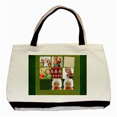 Christmas By Mac Book   Basic Tote Bag (two Sides)   Ahqju8pyoek0   Www Artscow Com Front