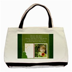 Christmas By Mac Book   Basic Tote Bag (two Sides)   Ahqju8pyoek0   Www Artscow Com Back