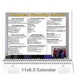 Linder Calendar 2013 - Wall Calendar 11  x 8.5  (12-Months)