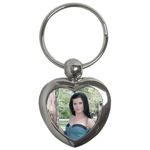 Heart5 By Greta Velikova   Key Chain (heart)   B81biqgz6k5d   Www Artscow Com Front