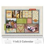 2013_8.5*11 - Wall Calendar 11  x 8.5  (12-Months)
