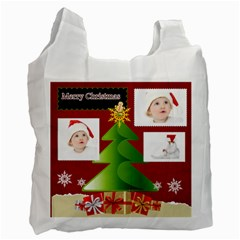 Christmas By Betty   Recycle Bag (two Side)   Khsb2rm8tmox   Www Artscow Com Front