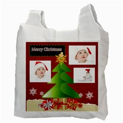 Christmas By Betty   Recycle Bag (two Side)   Khsb2rm8tmox   Www Artscow Com Back